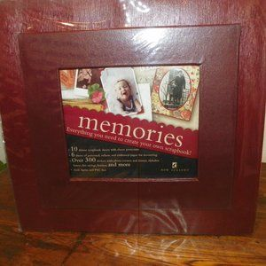 Complete Photo Memory Scrapbook Set